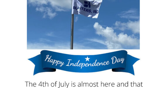 Blasters, Inc. observing 4th of July