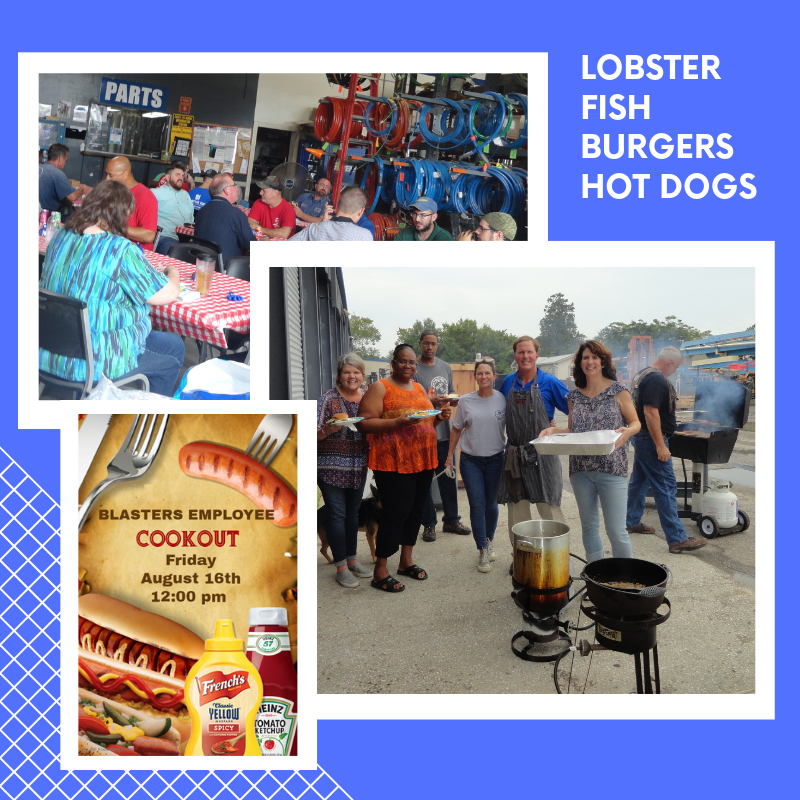 Blasters Cookout LOBSTER FISH HAMBERGERS HOTDOGS (1)