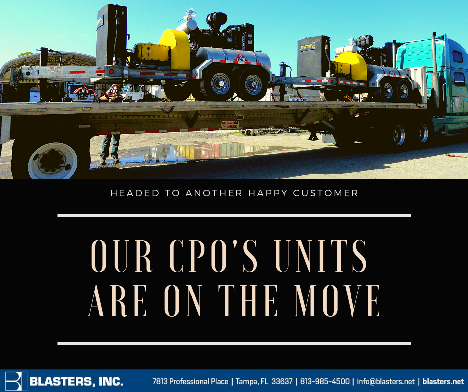 Our Cpo's units are on the move (1)