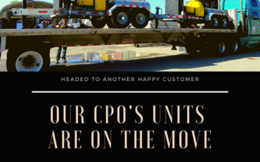 CPO's are on the move!