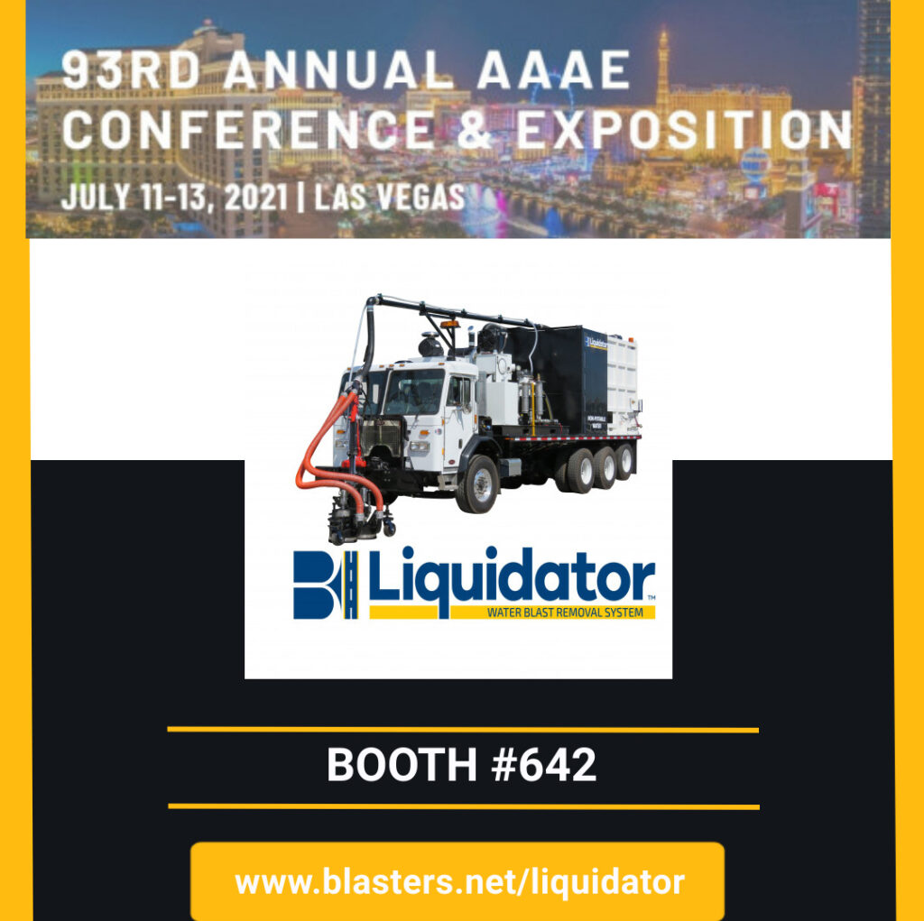 Blasters Liquidator will be at Annual AAAE Conference