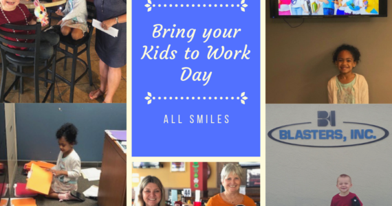 Bring your kids to work day, Blasters, Inc.