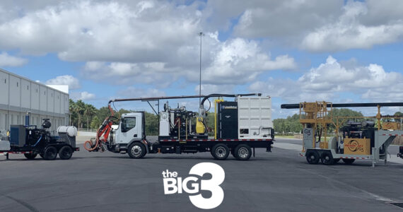 The Big 3 Blasters, Inc CPO waterblasters, Ready Jet and Liquidator products